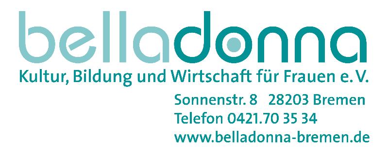 Logo belladonna - Kultur, Bildung und Wirtschaft für Frauen e.V.