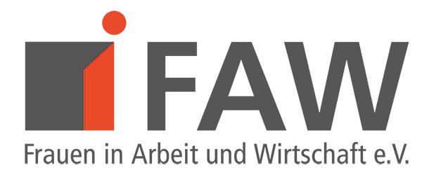 Logo FAW Frauen in Arbeit und Wirtschaft e. V. Bremen