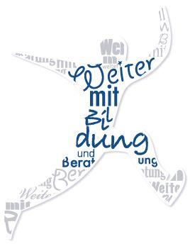 """Logo Landesprogramm """"Weiter mit Bildung und Beratung"""""""